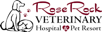 Rose Rock Veterinary Hospital & Pet Resort Logo